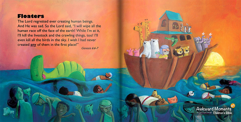 Noah's Ark - God's Genocide