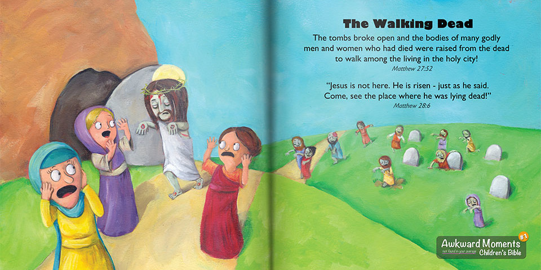 Jesus Zombie - He is Risen