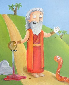 I just love Moses, at the center of so many completely believable Bible stories.