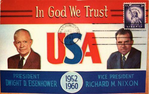 dr-jim-stamps-us-eisenhower-nixon-in-god-we-trust-postcard-77b63f9293d224e658244bb3522a3d52