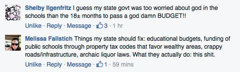 These early comments from my Facebook page seem to be echoed across many states with similar laws in the works.