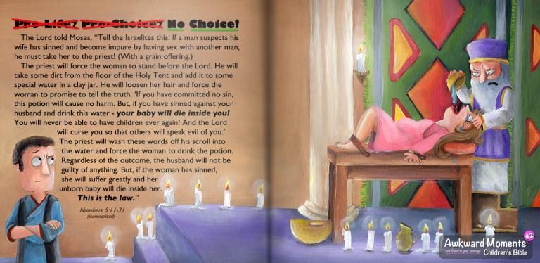 Abortion Ii The Bible - Awkward Bible - Horus Gilgamesh