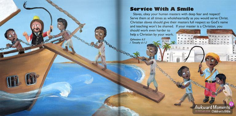 Awkward Bible Slaves Slavery