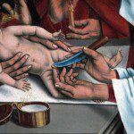 Detail from The Circumcision of Christ by Friedrich Herlin.
