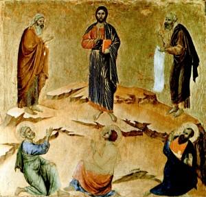 Duccio di Boninsegna, Transfiguration of Christ