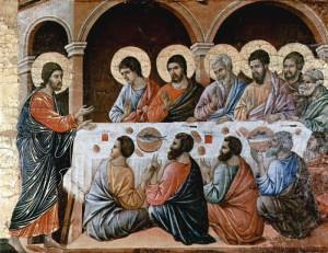 Duccio, Christ Appears