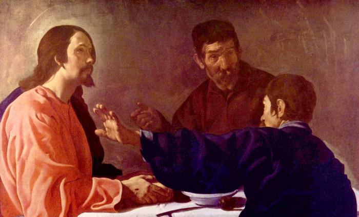 """Diego Velasquez, """"Supper at Emmaus"""""""