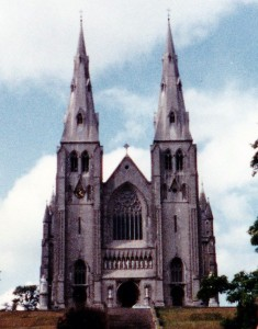 St. Patrick's Roman Catholic Cathedral on Sandy Hill (Photo credit: Faith McDonnell)