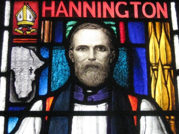 Bishop Hannington Window at St. Mary's Church (Photo source: Alchetron.com)