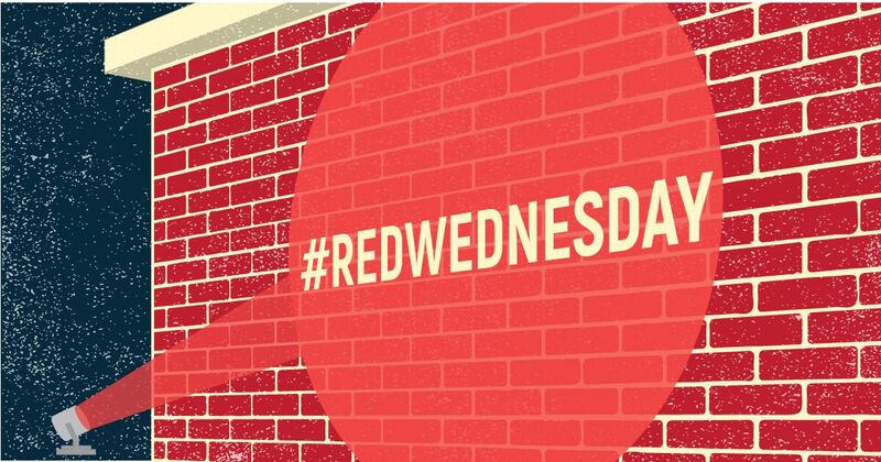 Shining a spotlight on persecution #RedWednesday (Photo credit: 21CWI)