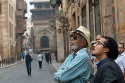 Morgan Freeman visits holy sites around the world in The Story of God.