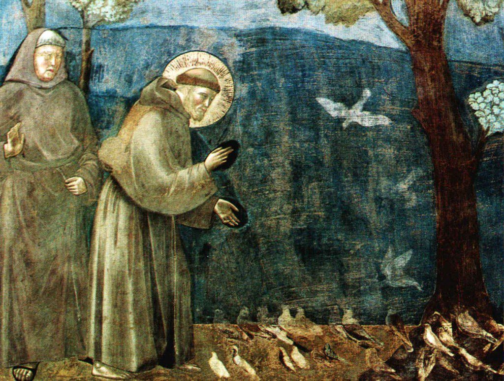 St. Francis Preaching to the Birds by Giotto