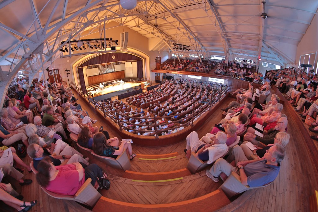Bay View, Petoskey, John M. Hall Auditorium