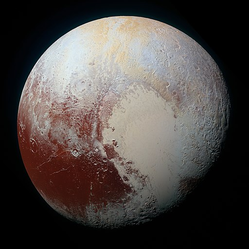 Pluto- image courtesy of Wikicommons