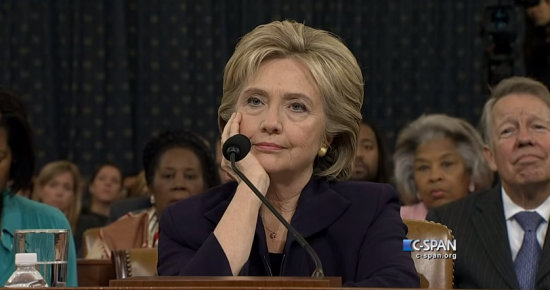 Hillary is not impressed.