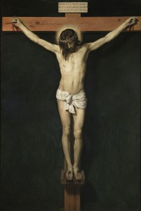 "(""Cristo Crucificado,"" 1632, by Diego Velázquez. Source: Wikipedia, Creative Commons License)."