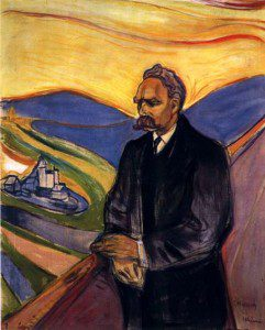 "(""Friedrich Nietzsche,"" by Edvard Munch, from 1901. Source: Wikiart, Public Domain)."