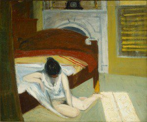 "(""Summer Interior"" by Edward Hopper, 1909. Source: Wikimedia, Creative Commons License)."
