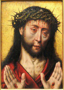 "(""Man of Sorrows"" by Aelbrecht Bouts, from the mid-1490s. Source: Wikimedia, Creative Commons License)."
