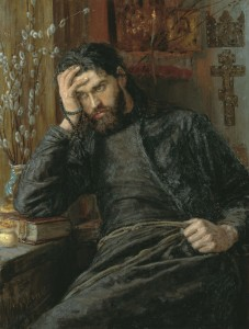 "(""Monk"" by Konstantin Savitsky, 1897. Source: Wikimedia, Creative Commons License)."