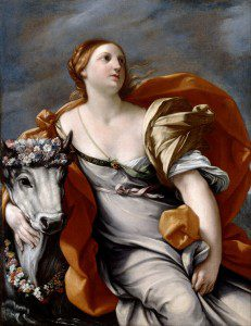 "(""Europa and the Bull"" by Guido Reni, c. 1640. Source: Wikimedia, Creative Commons License)."