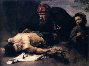 "(""The Good Samaritan"" by Théodule-Augustin Ribot, before 1870. Source: Wikimedia, Creative Commons License)."