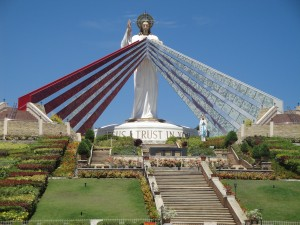 (The Divine Mercy Shrine in El Salvador, Misamis Oriental, Philippines. Source: Wikimedia, Creative Commons License).