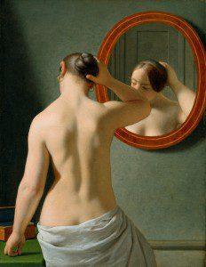 """(""""Morning Toilette"""" by Christoffer Wilhelm Eckersberg, 1841. Source: Wikimedia, Creative Commons License)."""