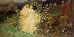 Venus and Anchises (1889 or 1890) by William Blake Richmond. Source: Wikimedia, Creative Commons License.