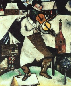 """""""Fiddler on the Roof,"""" Marc Chagall"""
