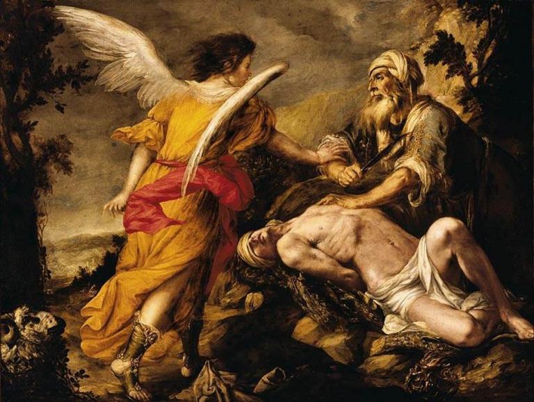 """The Sacrifice of Isaac,"" Juan de Valdes Leal (Wikimedia)"