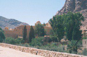 Saint Catherine's Monastery, Sinai. Photograph by Henry Karlson