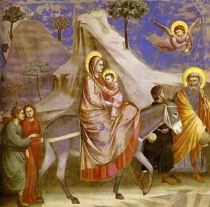 By Giotto (original fresco), SimonP (image from PD), Trelawnie (excerpt) (Public domain) [Public domain], via Wikimedia Commons