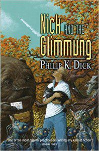 "Cover for the novel, Nick and the Glimmung, taken from Amazon.com, used under ""Fair Use"" policy"
