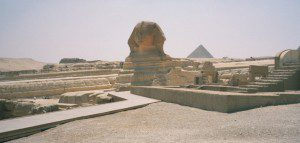 The Sphinx stares into the world asking us to identify ourselves before it. How shall we do so? Picture by Henry Karlson