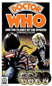 Cover for the novelization of Planet of the Spiders. Fair use intended.