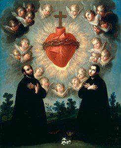 Sacred Heart by By José de Páez, Mexico, 1727-1790 (http://arttattler.com/archivelatinamerica.html) [Public domain], via Wikimedia Commons