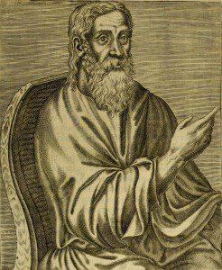 Clement of Alexandria by André Thévet [Public domain], via Wikimedia Commons