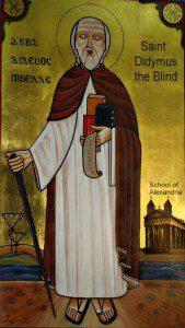 Didymus the Blind by Lizarazo999 (Own work) [Public domain], via Wikimedia Commons