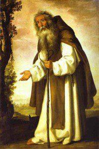 Anthony by Francisco de Zurbarán [Public domain], via Wikimedia Commons