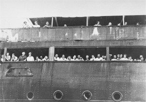 S.S. St. Louis with Jewish Refugees Outside of Cuba. Public Domain via WikimediaCommons