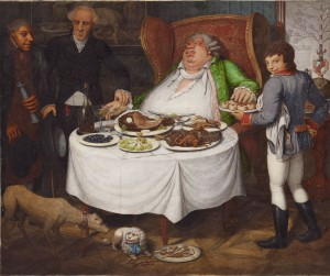 The Glutton by Georg Emanuel Opiz [Public domain], via Wikimedia Commons