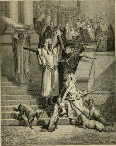 Publican and Pharisee by Internet Archive Book Images [No restrictions], via Wikimedia Commons