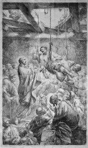 Christ Healing the Paralyzed Man by Bernhard Rode [Public domain], via Wikimedia Commons