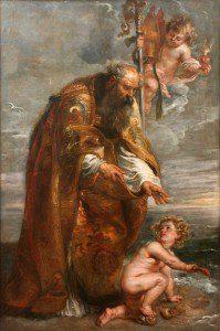 Augustine by Peter Paul Rubens [Public domain or Public domain], via Wikimedia Commons