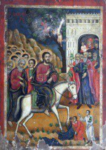 Dormition of the Mother of God Church Filipovo Palm Sunday Icon [Public domain], via Wikimedia Commons