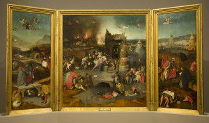 Temptation of Anthony by Hieronymus Bosch (circa 1450–1516) [Public domain], via Wikimedia Commons