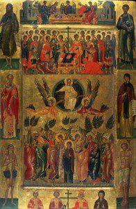 Icon of the Ascension. Andreas Ritzos [Public domain], via Wikimedia Commons