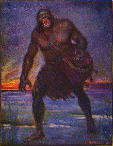 Grendel by J. R. Skelton [Public domain], via Wikimedia Commons