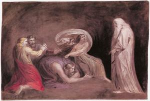 Blake_The_Witch_of_Endor_Raising_the_Spirit_of_Samuel_1783_Pen_and_watercolor_New_York_Public_Library